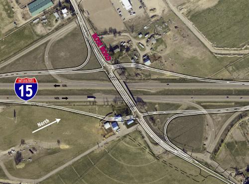 I-15 Rose Interchange Plan