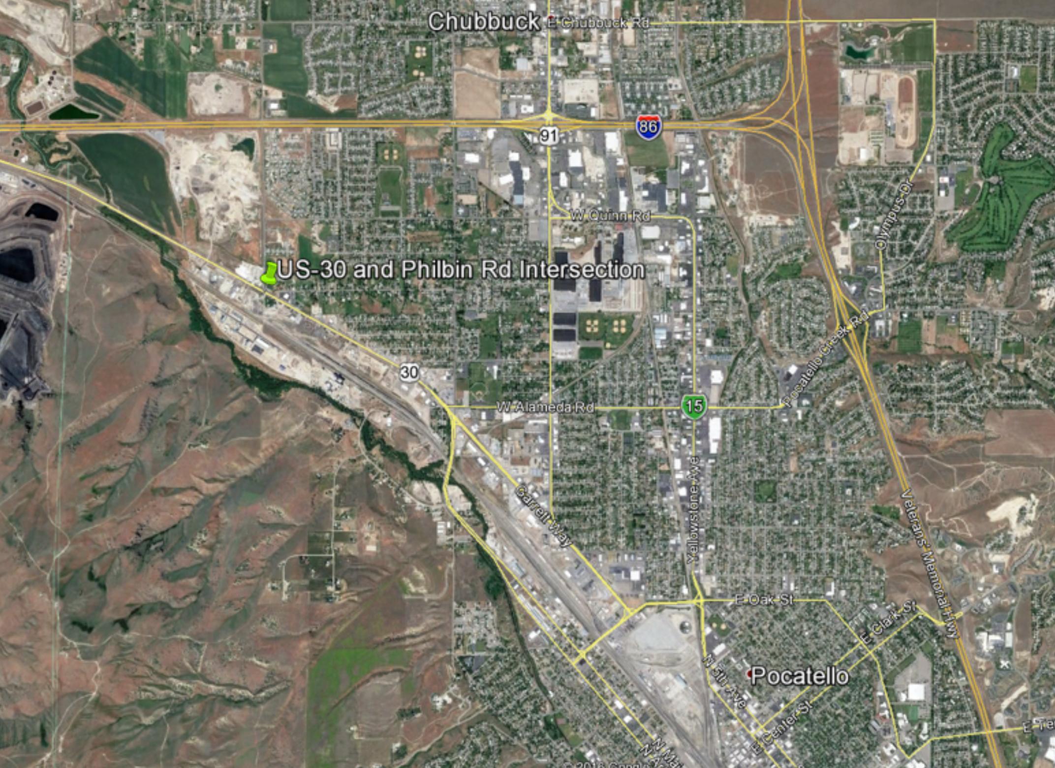 US-30: Philbin Road Intersection