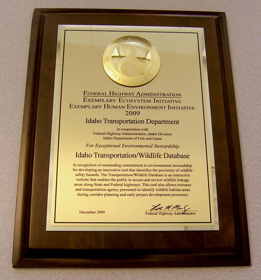FHWA Award