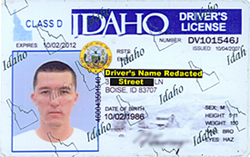 idaho state drivers license verification